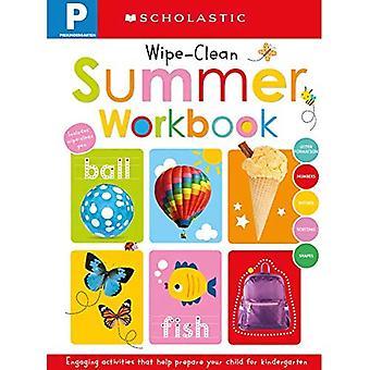Pre-K Zomerwerkboek: Scholastische Vroege Leerlingen (Wipe-Clean Workbook) (Scholastische Vroege Leerlingen)