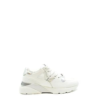Hogan Ezbc030222 Women's White Leather Sneakers