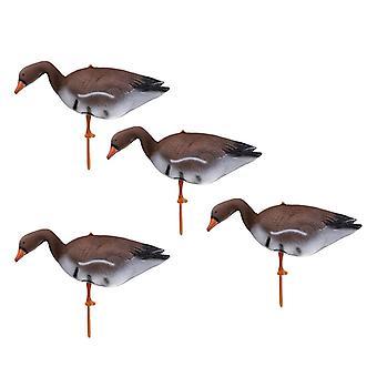 أوزة الصيد فخ الهدف، حديقة، حديقة ديكور السكابر، في الهواء الطلق الطيور الطيارة، بركة