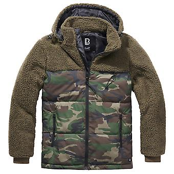Brandit Men's Winter Jacket Jackson Teddyfleece