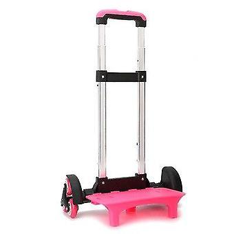 Wheels Expandable Rod Aluminum Alloy Pull Rod Bracket Roll Cart Kid Trolley
