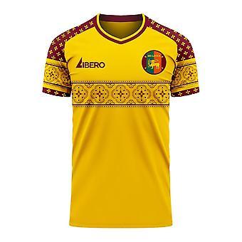 Sri Lanka 2020-2021 Home Concept Football Kit (Libero) - Aikuinen pitkähihainen