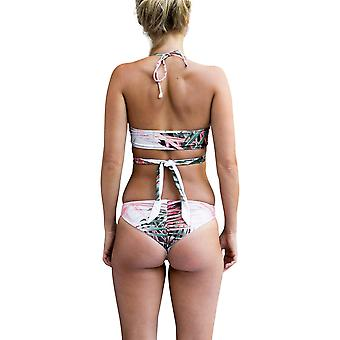 Nomad Bikini Neon Palm Coral