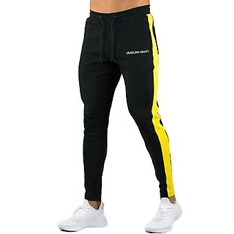 Nye Menn Bukser Hip Hop Fitness Klær Joggere Sweatpants Side Stripe Klassisk