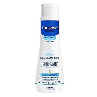 Mustela Bebe Multi-Sensory Bubble Bath 200ml