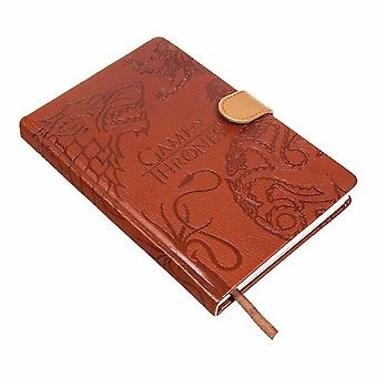Game of Thrones Sigils A5 Notebook