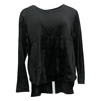 Carole Hochman Petite M (PM) Silky Stretch Velour Black A368282
