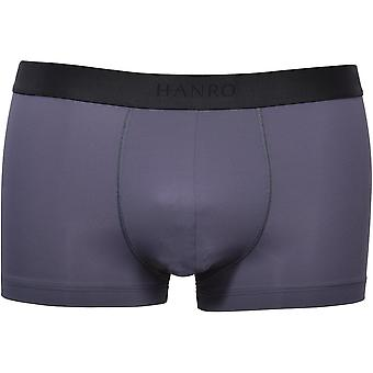 Hanro Micro Touch Boxer Trunk, Navy