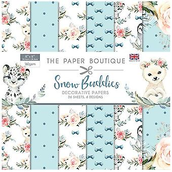 The Paper Boutique - Snow Buddies Collection - 8x8 Paper Pad