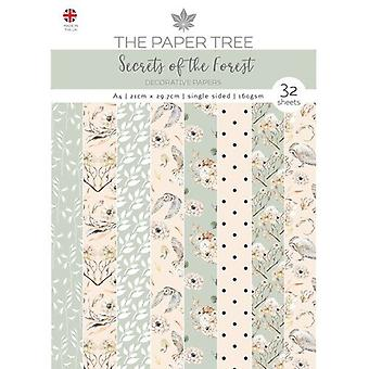 The Paper Tree - Secrets of the Forest Collection - A4 Backing Papers