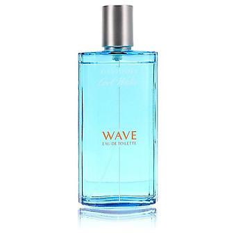 Cool Water Wave Eau De Toilette Spray (Tester) By Davidoff 4.2 oz Eau De Toilette Spray