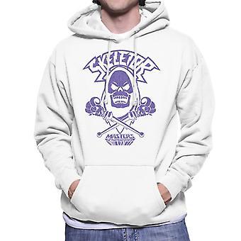 Masters of the Universe Skeletor Purple Silhouette Men&s Hooded Sweatshirt
