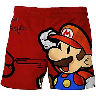 Grappige 3d Mario Bro Cartoon Zomer shorts (set-1)