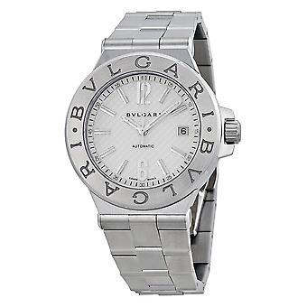 Bvlgari Diagono Steel Men's Watch DG40C6SSD