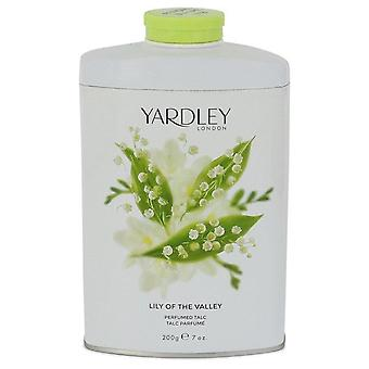 Lily of the valley yardley pefumed talc by yardley london 499112 207 ml