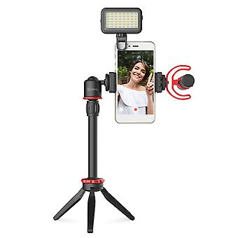 Telefoon video vlog kit