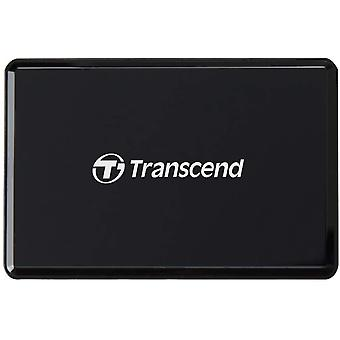 HanFei USB 3.1 Gen 1 kompakter schwarzer Multifunktionskartenleser fr UHS-I & UHS-II SD-,