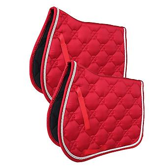 Horse Quilted English Saddle Pad, Trail Dressage Jumping Show