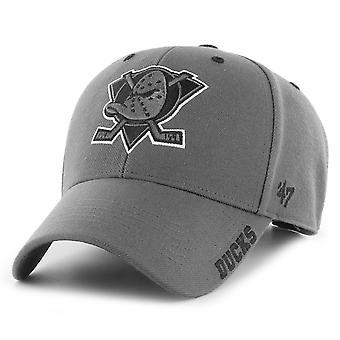 47 כובע מתכוונן למותג - פחם ברווזי אנהיים DEFROST