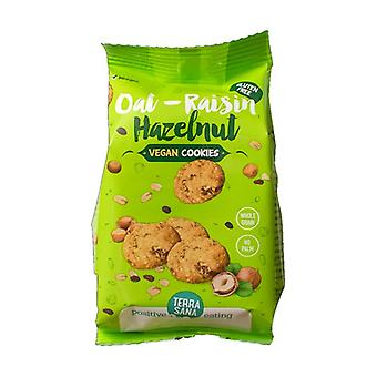Gluten Free Cookies with Oatmeal, Raisins and Hazelnuts 150 g