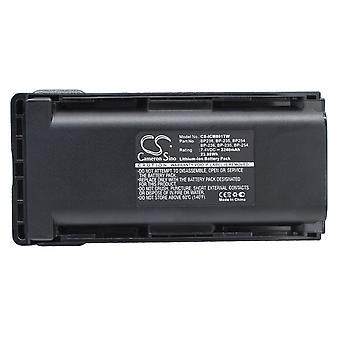 Battery for Icom BP235 BP-236 BP-254 IC-F80DS IC-F80DT IC-F80T IC-F9011 3240mAh