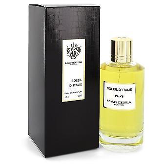 Mancera Soleil D'Italie by Mancera Eau De Parfum Spray (Unisex) 4 oz