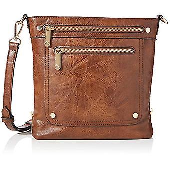 Bessie London, Women's Crossbody Handbag, Light Brown, ONE SIZE(1)