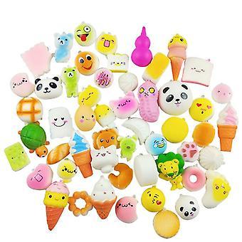 10Pcs descompressão pão de brinquedo descompressão artificial descompressão recuperação artificial de brinquedo para crianças e adultos