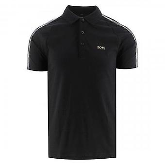 Boss Green Hugo Boss Paul Gold Black 001 Polo T-Shirt 50448654