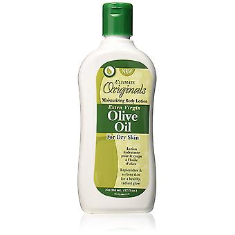 La mejor loción corporal de aceite de oliva virgen extra orgánico de África 12oz