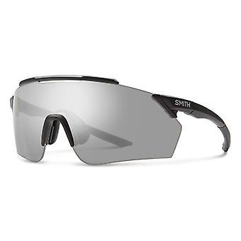 Smith Ruckus 003/XB Matte Black/Grey-Silver Mirror Sunglasses