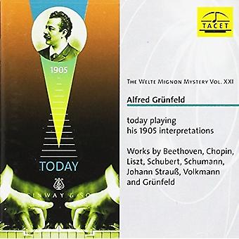 Beethoven / Chopin / Schubert / Fischhof - Welte Mignon Mystery V21 [CD] USA import