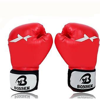 قفازات الملاكمة الحمراء لقفازات التدريب menboxing قفازات القفازاتبارينج قفازات كيس الملاكمة للملاكمة x3814