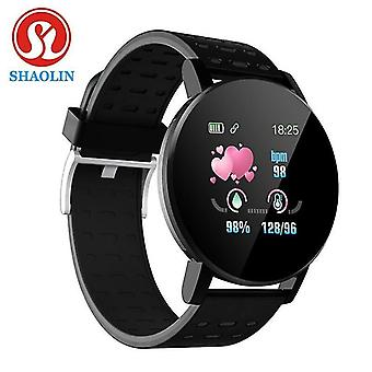 Casual Smart h Watch Bluetooth Miesten kello Älykello Naisten älykello musta