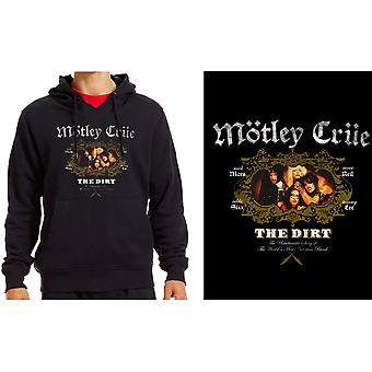 Motley Crue - The Dirt Men's Medium Pullover Hoodie - Black