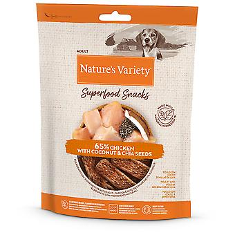 Nature's Variety Snacks Superfoods Chicken (Dogs , Treats , Natural Treats)