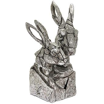 Natural World Hare Bust Figurine By Lesser & Pavey