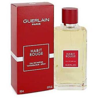 Vane Rouge Av Guerlain Eau De Parfum Spray 3.3 Oz (menn)
