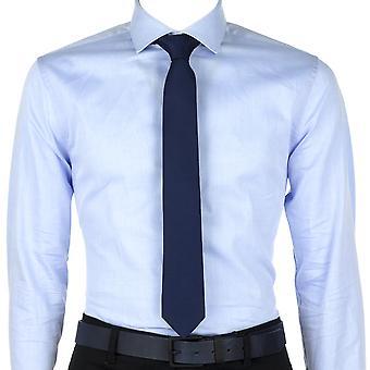 Calvin Klein Heren Stropdas Schaal Solid Tie Blauw