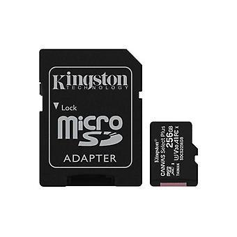 Kingston Technology Canvas Select Plus pamäťová karta 256 GB MicroSDXC trieda 10 UHS-I