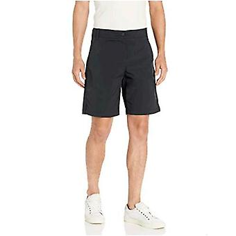 "Essentials Men's Regular-Fit Hybrid Tech 9"" Corto"