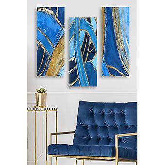 MDF0082 Flerfärgad dekorativ MDF-målning (3 stycken)