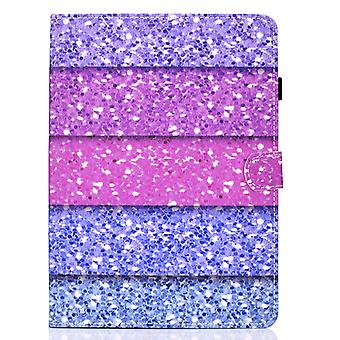 Case For Samsung Galaxy Tab S6 Lite Cover With Auto Sleep/wake Pattern Magnetic - Pink Purple Blue