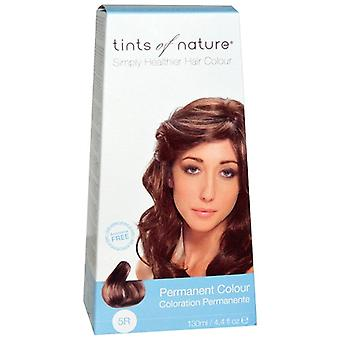 Tints of Nature, Rich Copper Brown, 130ml