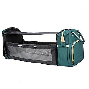 Diaper Backpack Diaper Bag Travel Bassinet Portable Baby Bed Foldable Mommy Bag