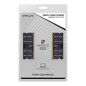 RAM-muisti PNY MN16GK2D42400 SODIMM 16 Gt DDR4