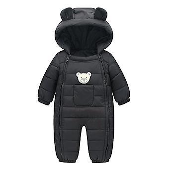 新生児スノースーツフード付きウォームジャケット