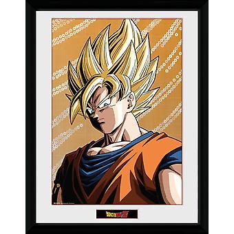 Dragon Ball Z Goku encadrée Collector Print