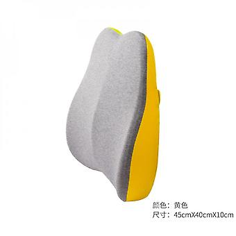 Memory Cotton Back Pillow Office Seat Back Pillow Household Products Back & Lumbar Support Cushions