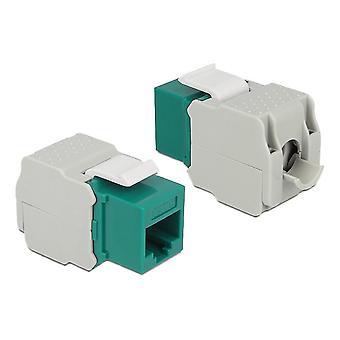 DELOCK Keystone Module RJ45 Conector > LSA Cat.6 UTP Verde